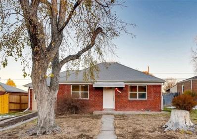 510 S Dale Court, Denver, CO 80219 - #: 5534615