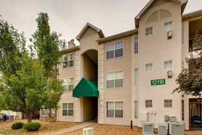 12118 W Dorado Place UNIT 101, Littleton, CO 80127 - MLS#: 5538750