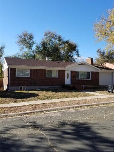 2114 Meyers Avenue, Colorado Springs, CO 80909 - MLS#: 5561657