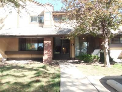 10432 W Florida Avenue UNIT A, Lakewood, CO 80232 - MLS#: 5588842