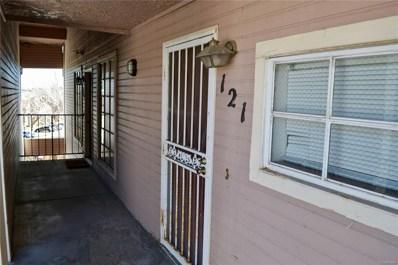 4460 S Pitkin Street UNIT 121, Aurora, CO 80015 - MLS#: 5589654
