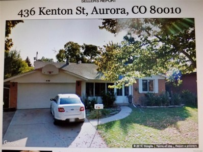 436 Kenton Street, Aurora, CO 80010 - MLS#: 5651824