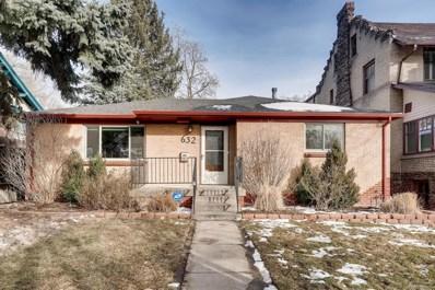 632 N Ogden Street, Denver, CO 80218 - #: 5716474