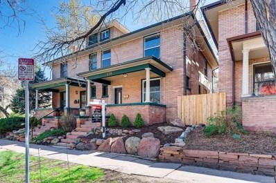 1376 N Humboldt Street, Denver, CO 80218 - #: 5726829