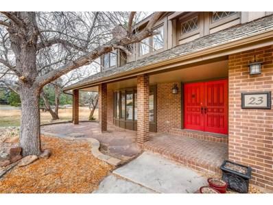 23 N Ranch Road, Littleton, CO 80127 - MLS#: 5747236
