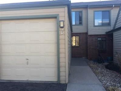 3697 S Depew Street UNIT 9, Lakewood, CO 80235 - MLS#: 5775880