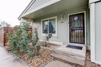 4587 S Hannibal Street, Aurora, CO 80015 - MLS#: 5786211