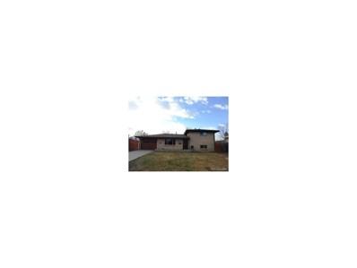 4637 Dudley Street, Wheat Ridge, CO 80033 - MLS#: 5823793
