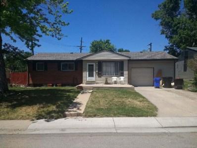 7625 Zane Street, Denver, CO 80221 - MLS#: 5885536