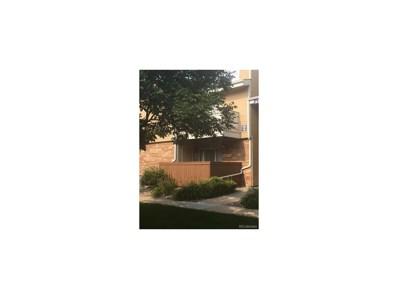 3322 S Ammons Street UNIT 105, Lakewood, CO 80227 - MLS#: 5893095