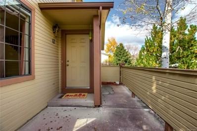 9163 W Cedar Drive UNIT B, Lakewood, CO 80226 - MLS#: 5909708