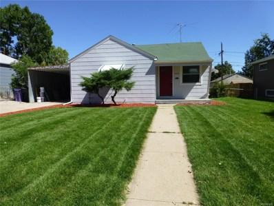 1840 S Yuma Street, Denver, CO 80223 - MLS#: 5937804
