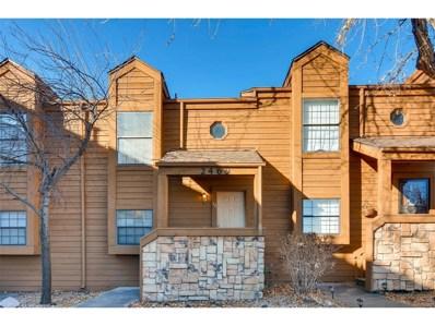 2469 Devonshire Court UNIT 34, Denver, CO 80229 - MLS#: 5938041