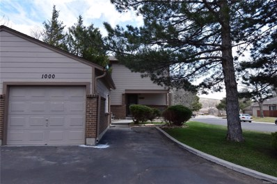 1000 Homestake Drive UNIT 1-A, Golden, CO 80401 - MLS#: 5950407