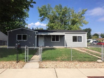 7571 Niagara Street, Commerce City, CO 80022 - MLS#: 5976834
