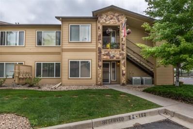 4747 S Balsam Way UNIT 21-102, Denver, CO 80123 - MLS#: 6024567