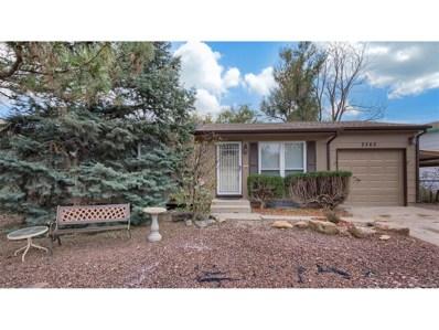 2560 Bellamy Street, Colorado Springs, CO 80916 - MLS#: 6031671