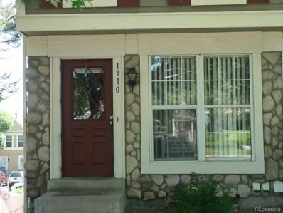1310 S Idalia Street, Aurora, CO 80017 - MLS#: 6037221