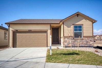 6382 Anders Ridge Lane, Colorado Springs, CO 80923 - MLS#: 6062454