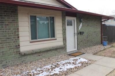 401 S Balsam Street, Lakewood, CO 80226 - MLS#: 6096050