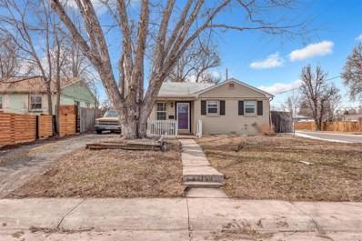 1695 Verbena Street, Denver, CO 80220 - #: 6103235