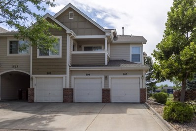1523 S Danube Way UNIT 107, Aurora, CO 80017 - #: 6173679