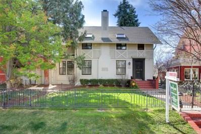 315 N Humboldt Street, Denver, CO 80218 - #: 6250210