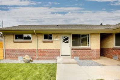 4247 N Shoshone Street, Denver, CO 80211 - MLS#: 6268001
