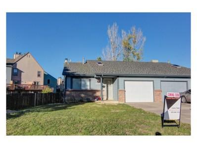 14225 E Montana Circle UNIT B, Aurora, CO 80012 - MLS#: 6276545