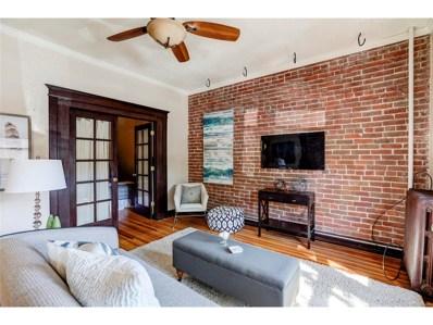 1475 N Humboldt Street UNIT 3, Denver, CO 80218 - MLS#: 6291383