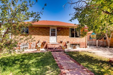 1321 W Gill Place, Denver, CO 80223 - #: 6300879