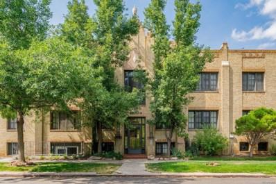 2533 E 11th Avenue UNIT 1, Denver, CO 80206 - MLS#: 6313120