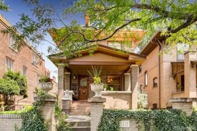 1312 York Street, Denver, CO 80206 - MLS#: 6342356