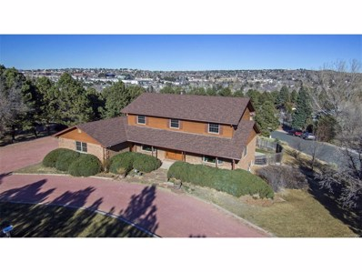 2610 Northridge Drive, Colorado Springs, CO 80918 - MLS#: 6350395