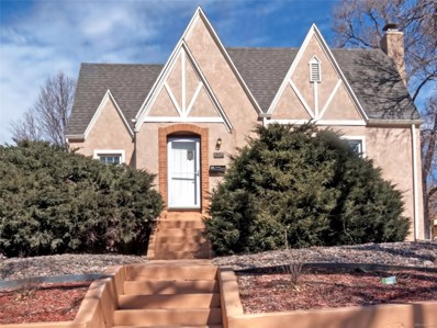1326 E Pikes Peak Avenue, Colorado Springs, CO 80909 - MLS#: 6364081