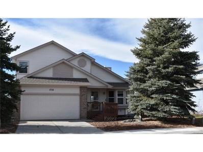 1756 Foxfield Drive, Castle Rock, CO 80104 - MLS#: 6365951