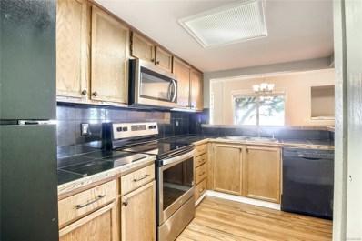 10490 W Jewell Avenue UNIT F, Lakewood, CO 80232 - #: 6378215