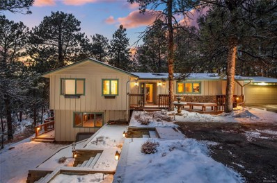 3917 Ponderosa Drive, Evergreen, CO 80439 - #: 6443268