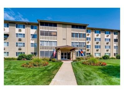 660 S Alton Way UNIT 1D, Denver, CO 80247 - MLS#: 6490515