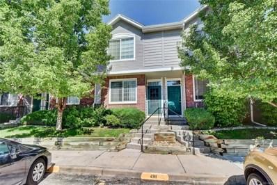 9651 W Chatfield Avenue UNIT D, Littleton, CO 80128 - MLS#: 6533841