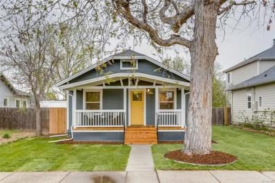 4976 Newton Street, Denver, CO 80221 - MLS#: 6588194