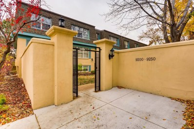9210 E Girard Avenue UNIT 9, Denver, CO 80231 - MLS#: 6670178
