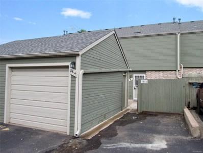 3417 S Ammons Street UNIT 25-4, Lakewood, CO 80227 - MLS#: 6743805