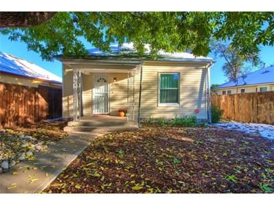 2785 W Irvington Place, Denver, CO 80219 - MLS#: 6761827