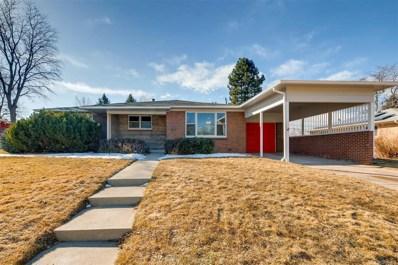 4900 E Jewell Avenue, Denver, CO 80222 - MLS#: 6762150