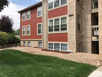 2686 E Otero Place UNIT 1, Centennial, CO 80122 - MLS#: 6795080