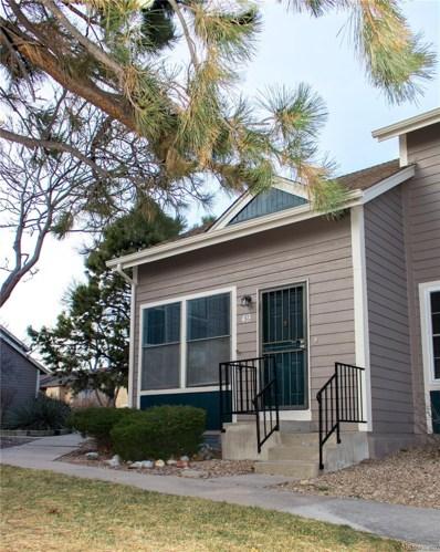 11590 Community Center Drive UNIT 49, Northglenn, CO 80233 - MLS#: 6856673