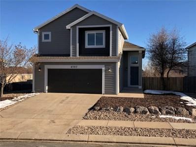 4757 Sweetgrass Lane, Colorado Springs, CO 80922 - MLS#: 6939284