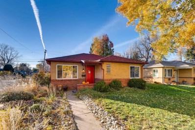 1601 Quince Street, Denver, CO 80220 - MLS#: 7010954