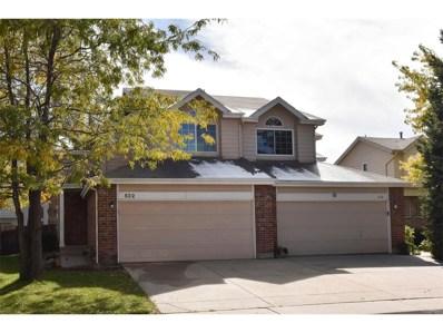 532 W 114th Way, Northglenn, CO 80234 - MLS#: 7022856